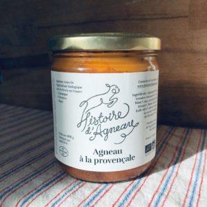 Vente d'agneau à la Provençale bio